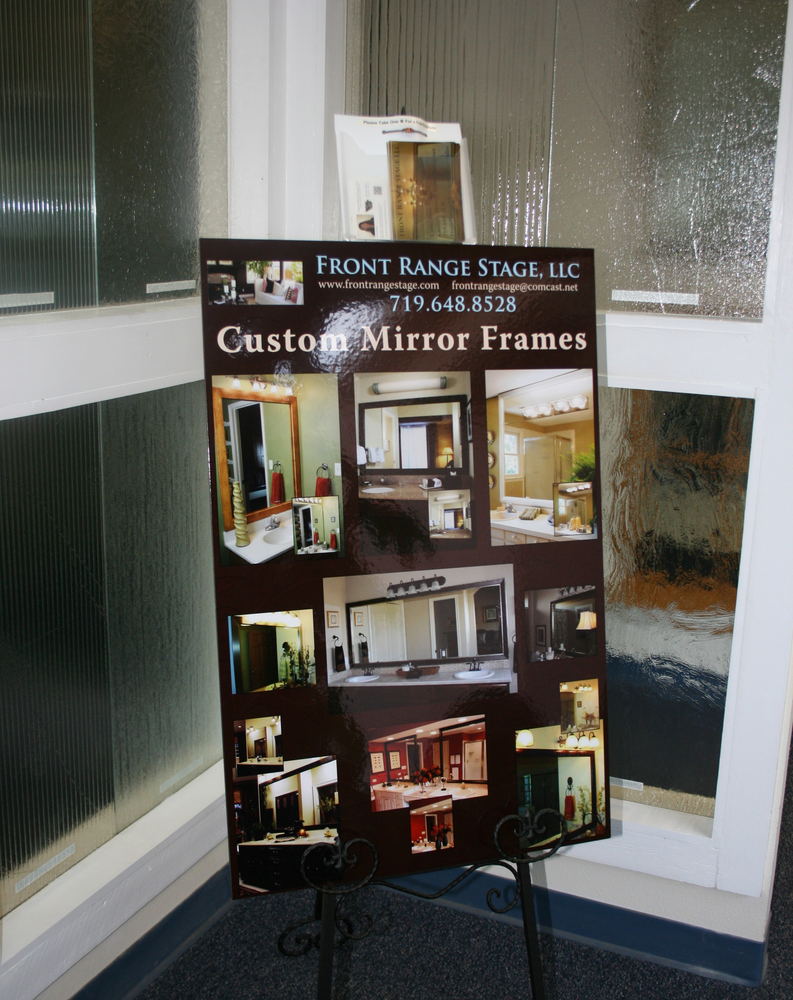 Front Range Stage and Colorado Springs City Glass offer Custom ...